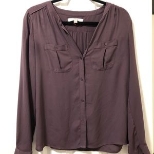 Plum colored top